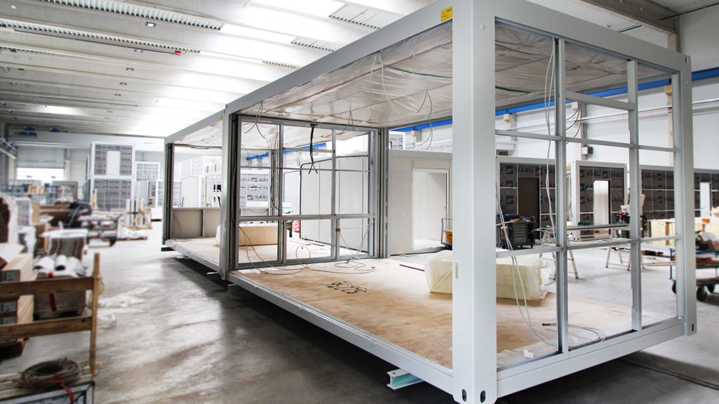 Steel framed modular construction for high rise hotels for Prefab framing